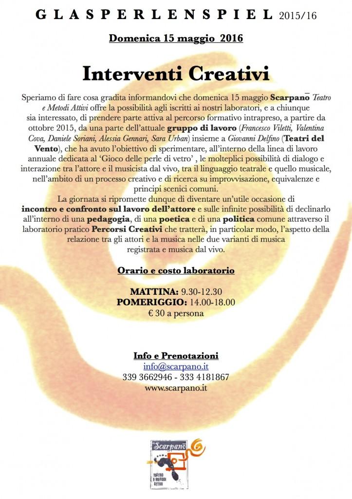 interventi creativi solo lab jj